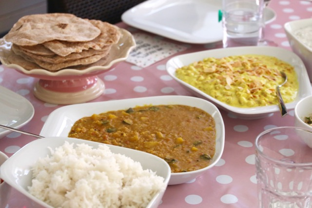 südindischer Kochkurs Currys