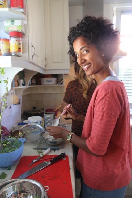 südindischer Kochkurs Teilnehmer